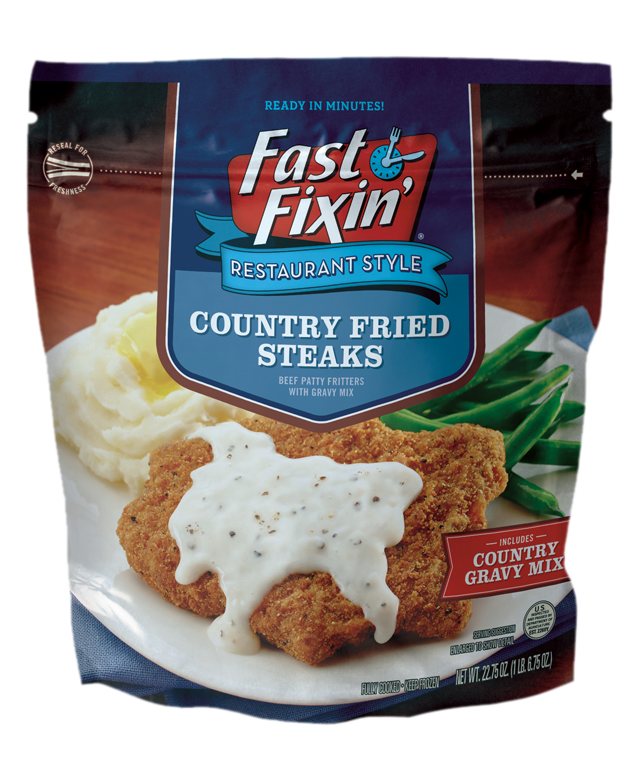 Country Fried Steaks Fast Fixin