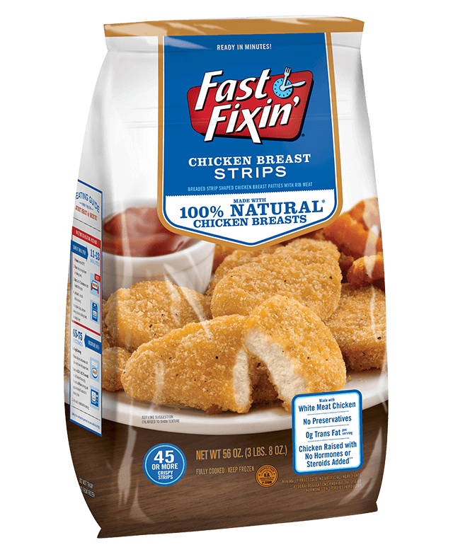 Family Size Chicken Breast Strips