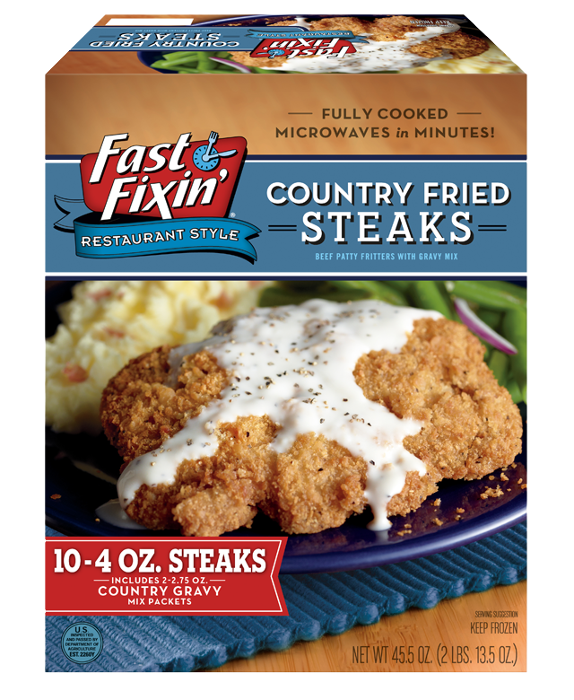 Family Size Country Fried Steak With Gravy